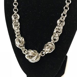 Charming Charlie Knot Necklace